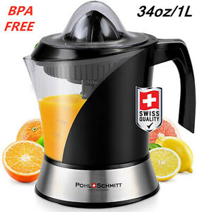 Lime Lemon Orange Citrus Electric Juicer Machine Juice ExtractorPulp Control1L