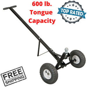 Heavy Duty Trailer Dolly Mover Hand Dolly Extra Long Handle For Small Trailer