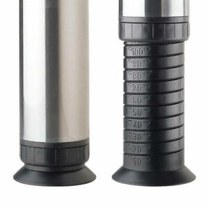 Richelieu 660650 Zoom Series 25 5 8quot; Tall Round Steel Furniture Chrome