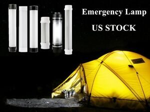 USB Rechargeable LED Camping Light Tent Lantern Emergency Handle Hook Lamp if