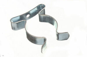 Lot Of 25 Tool Storage Spring Terry Clips 1 4 Inch 32Mm Bzp