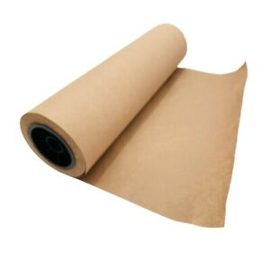 Brown Kraft Paper Roll 18quot; x 2400quot; 200#x27; Recycled #40 bond Crafts packaging $18.45