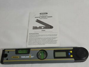 General Tools TS02 ToolSmart Bluetooth Connected Digital Angle Finder Level $44.95