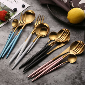 New Stainless Steel Cutlery Set Spoon Fork amp; Chopsticks Travel Set US