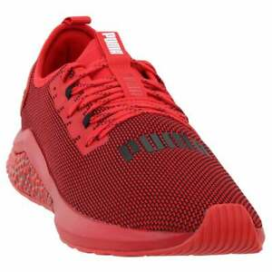 Puma Hybrid Nx Mens Running Sneakers Shoes Red Size 11 D $34.99