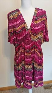 MADE BY JOHNNY WOMENS 2XL TOP BLOUSE