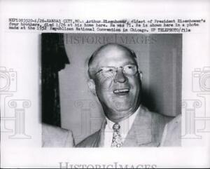 1958 Press Photo Arthur Eisenhower oldest son of Presidents Eisenhower
