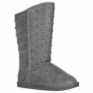 Lugz Kimi Womens Boots Mid Calf Grey $14.99