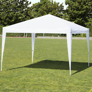 Best Choice Products 10#x27; x 10#x27; Pop Up Canopy With Carrying Bag White