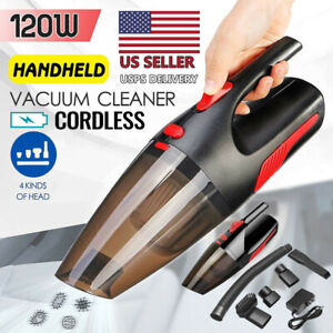 Cordless Hand Held Vacuum Cleaner Small Mini Portable Car Auto Home Use Wireless