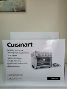 Cuisinart TOA 60 1800W Stainless Steel Air Fryer Toaster Oven Silver