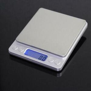 Digital Scale 2000g x 0.1g Jewelry Gold Silver Coin Gram Pocket Size Herb Grain $6.99