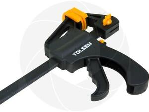 12inch Ratcheting Bar Locking Clamp Ratchet Holding Spreader Squeeze Woodwork $21.99