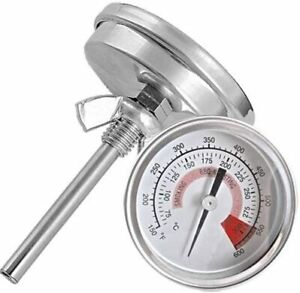 Ecloud ShopUS Barbecue Pit Smoker Grill Thermometer Temperature Gauge