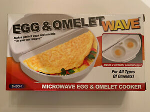 NEW Egg and Omelet Wave Microwave Cooker Emson FREE SHIP As Seen on TV