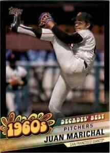 2020 Topps Baseball Series 2 Decades Best Inserts You Pick Free Shipping