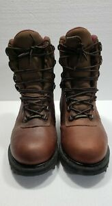 Cabelas Gore Tex 81 1928 Leather Work Hunting Boots 9.5D Br Thinsulate Ultra