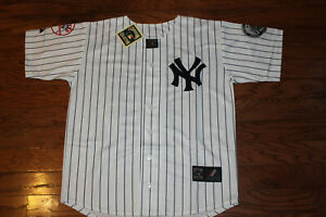 New York Yankees #2 Derek Jeter White Home Jersey w Tags Size L Adult