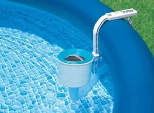 Intex 28000E Deluxe Wall Above Ground Mount Surface Skimmer for Swimming Pool $39.96