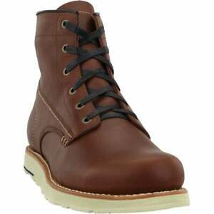 Georgia Boots Small Batch Low Wedge s Casual Boots Brown Mens