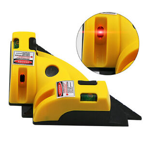 90 Degree Right Angle Laser Level Vertical Horizontal Tile Brick Alignment Tool $12.01