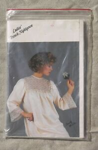 Sandy Hunter Ladies French Nightgown French Sewing by Machine Size P XL $8.50