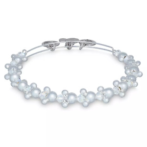Disney Parks Alex amp; And Ani Silver Mickey Icon Beaded Bracelet $24.95
