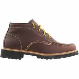 Georgia Boots Small Batch Moc Toe Chukka Boots Casual Boots Brown Mens Size