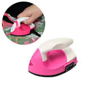 Mini Electric Iron Small Portable Travel Crafting Crafts Clothes Sewing US Plug