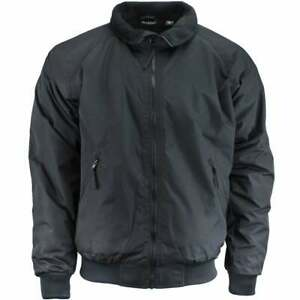 River#x27;s End Bomber Jacket Athletic Outerwear Black Mens