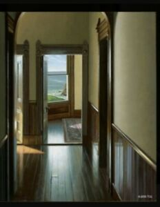 Edward Gordon Guest House original painting PERFECT CONDITION $1500.00