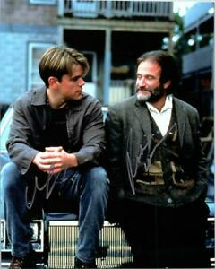 GOOD WILL HUNTING DAMON amp; WILLIAMS Cast Signed Autographed Photo w COA