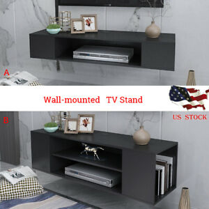 40quot;Wall Mount Media Center Shelf Floating Entertainment Console TV Stand Cabinet $74.99