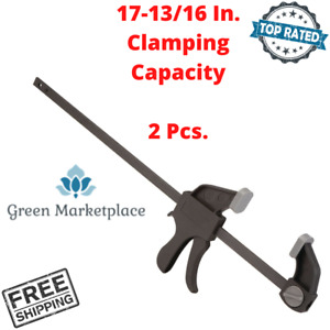 Ratcheting Bar Clamp Spreader 18 Quick Release Woodworking Clamping Tool 2 Pcs. $29.21