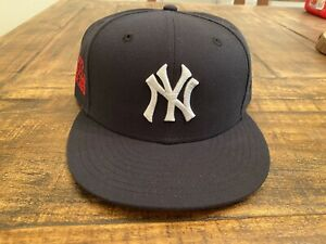 New York Yankees Navy Blue New Era Fitted 1997 World Series 7 3 4 Red Under brim $80.00