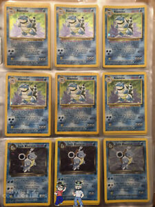 ORIGINAL Pokemon 11 Card Lot 100% Vintage WOTC 1st Edition RARE Included $29.99