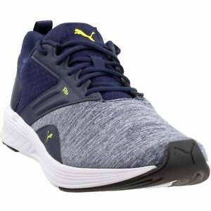 Puma Nrgy Comet Mens Running Sneakers Shoes Blue $22.99