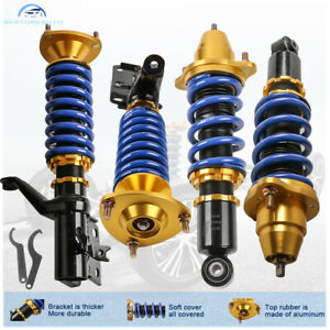 For 02 06 Acura RSX Type S Base Front Rear Full Coilover Struts Shocks Adjust $286.78