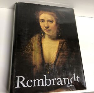 Rembrandt Paintings Book 1968 by Horst Gerson Hardcover $18.00