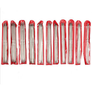 Double Pointed Stainless Knitting Needles 11 Sizes 55Pcs Set 2 MM 6.5 MM $8.54