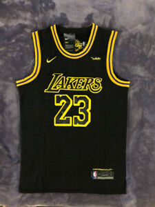 Mens Youth LeBron James #23 Los Angeles Lakers Black Stitched Jersey $24.99