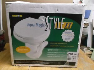 Thetford 42058 Camper RV Aqua Magic Style II RV Toilet