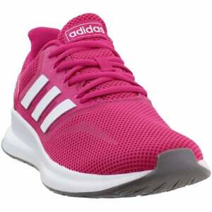 adidas Runfalcon Womens Running Sneakers Shoes Pink $54.99