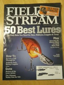 Field amp; Stream Magazine March 2007 50 Best Lures Only Baits You Need