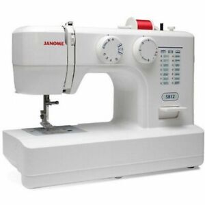 Janome Sewing Machine 5812 with Top Drop In Bobbin New $149.00
