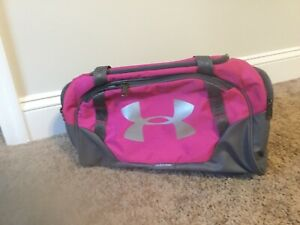 Under Armour Pink Storm Duffle Bag $19.99