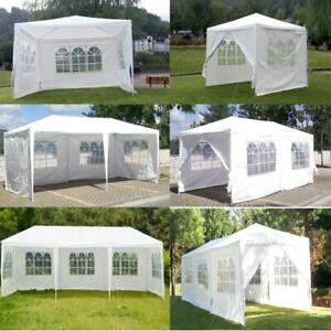 10x20 30 Party Canopy Tent Outdoor Gazebo Heavy Duty Pavilion Event White