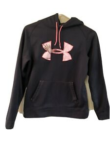 Under Armor Cold Gear Semi Fitted Women's Hoodie Size Small $18.99