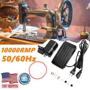 110V 180W Sewing Machine Motor 10000 R Min for Foot Pedal Handwork Accessories $24.24