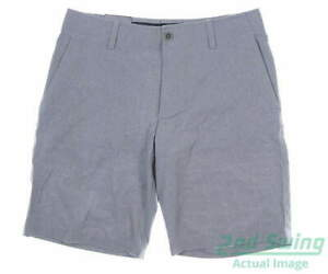 New Mens Under Armour Golf Shorts 40 Gray MSRP $70 $57.99
